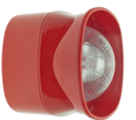 FireClass Open Class Beacon Sounder Red Indoor FC410LPBS R EN54 23 approved