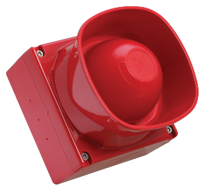Loop powered sounder red