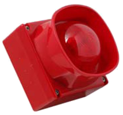 Sounder Beacon Red IP65